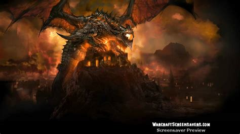 Deathwing Animated Wallpaper - cataclysm deathwing animated world of warcraft