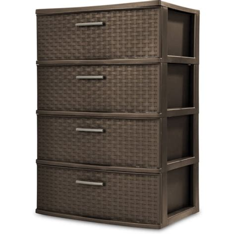 9 pull out organizer sterilite 4 wide weave tower walmart com
