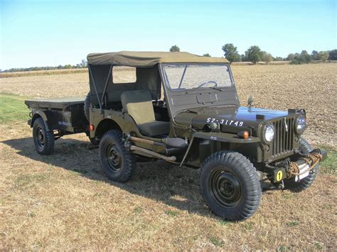 jeep military classic wheels and vintage wings sold excellent 1952