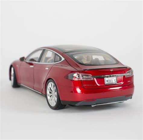 tesla motors   selling  scale model  diecast