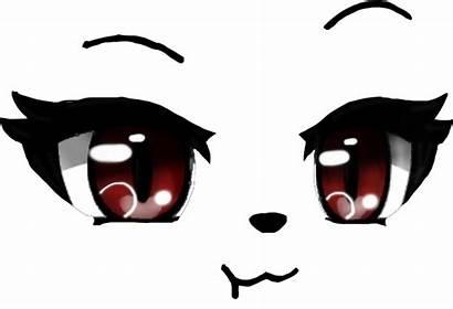 Eyes Gacha Anime Picsart Character Drawing Face