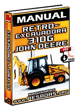manual de retroexcavadora  john deere motor tren de