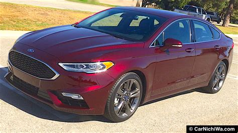Ford Fusion Turbo by 2017 Ford Fusion V6 Sport Review Command