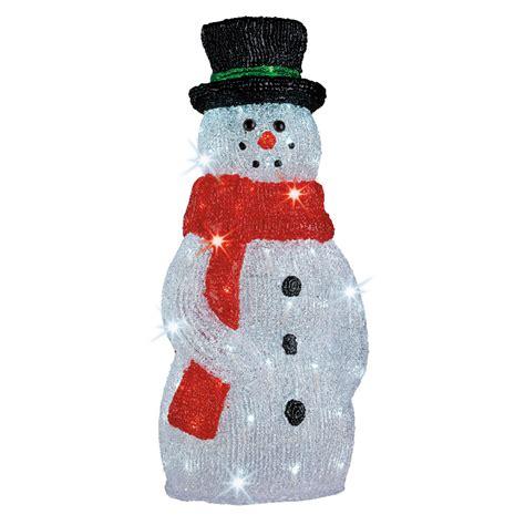 luminaire led cuisine bonhomme de neige lumineux 40 cm 492163 achat vente