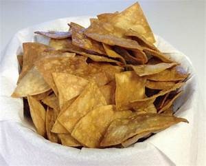 Homemade Tortilla Chips – Scratch this with Sandy