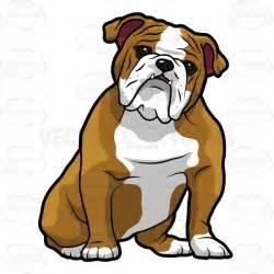 English Bulldog Cartoon Clip Art