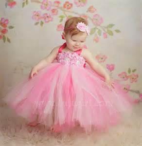 pomander balls pink tutu dress