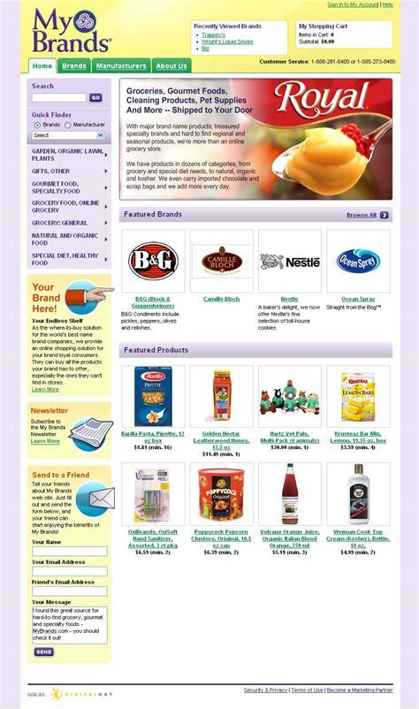 My Brands Online Grocery Website Goes Live Digitalday