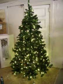 gluckstein home lord taylor 7 ft oregon pine pre lit artificial christmas tree ebay