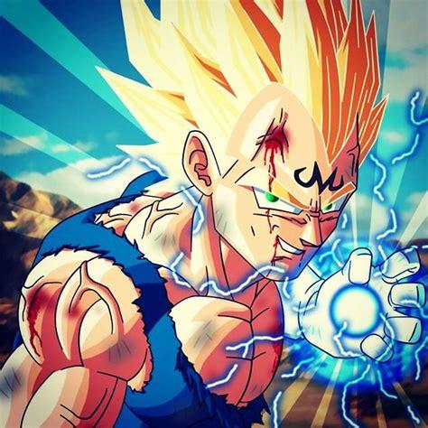 Dragon Ball Z Wallpaper 1080p Majin Vegeta Dragonball Z Pinterest