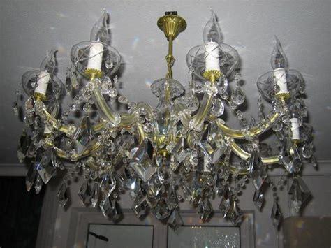 Riesen Bleikristall Lüster, Kronleuchter, Maria Theresia