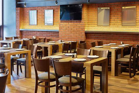 restaurante  pared de ladrillo visto fotos   te