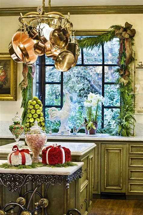 christmas decorations for the kitchen christmas decor ideas for kitchen home and decoration