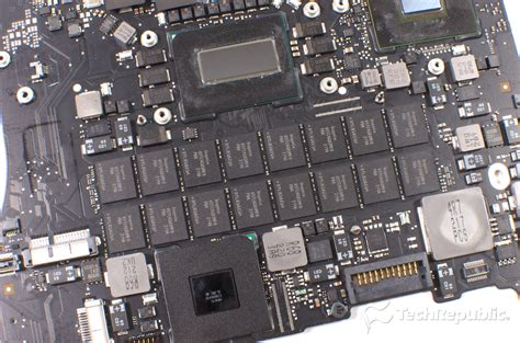 macbook pro fan not working teardown shows retina macbook pro is nearly impossible to