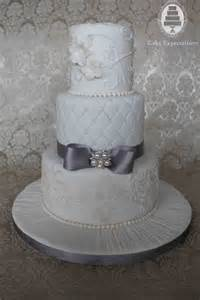silver wedding cake expectations www cakeexpectations ca archive white and silver wedding cake