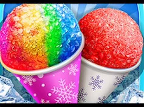 snow cone maker frozen foods android gameplay  apps