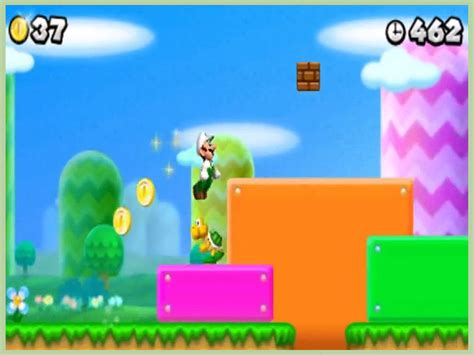 How To Get Luigi On New Super Mario Bros Ds 13 Steps