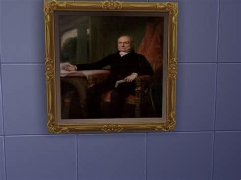 american presidents paintings  eyuri  mod  sims