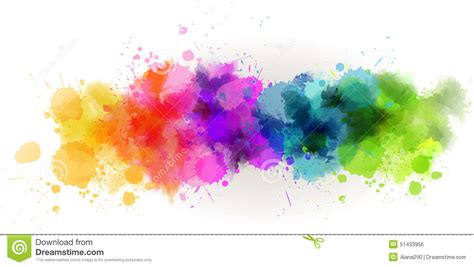 watercolor  background stock vector illustration