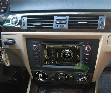 bmw e90 radio car dvd player for bmw 3 series e90 manual air conditioner with gps radio tv bluetooth