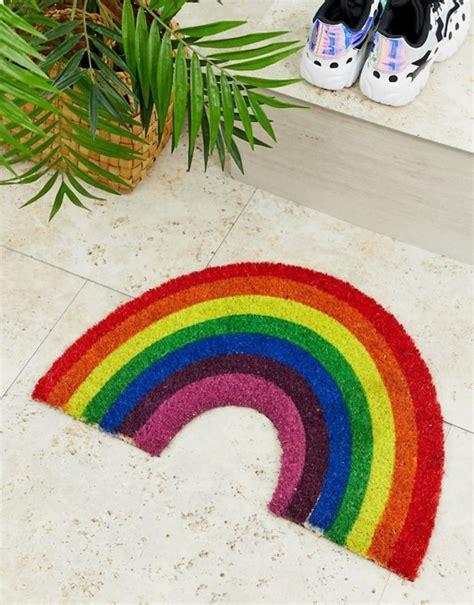 Rainbow Doormat by Artsy Rainbow Doormat Asos