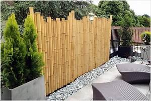 sichtschutz garten bambus neu uncategorized schones bambus With französischer balkon mit sichtschutz und raumteiler im garten