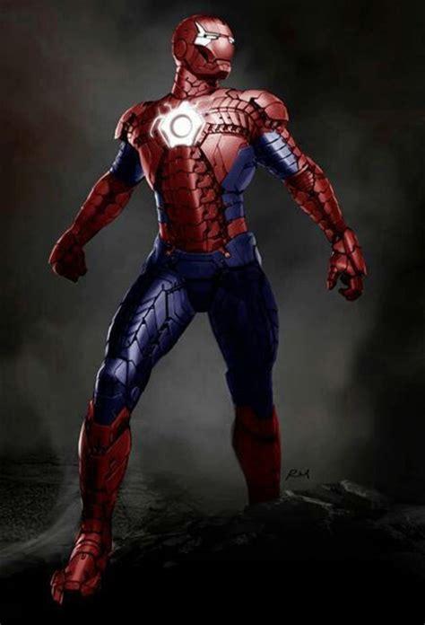 Spiderman Iron Man Suit