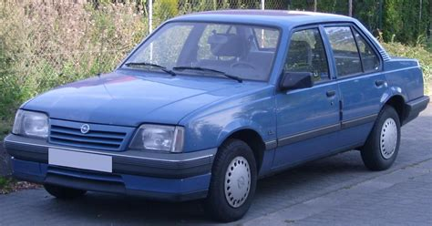Opel Ascona by File Opel Ascona Jpg Wikimedia Commons