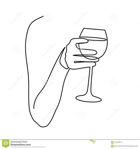 Bicchieri Da Colorare by Disegno Bicchiere Di