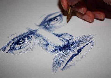 ballpoint  drawings  ai