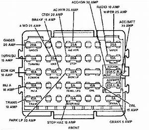 I Was Trying To Find A Fuse Panel Diagram For Both The In Cab And Under Hood Fuse Boxes For A