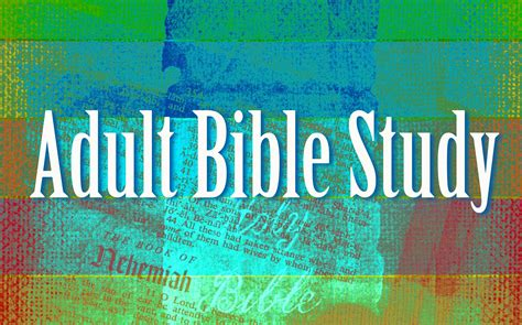 adult bible study holy cross lutheran church