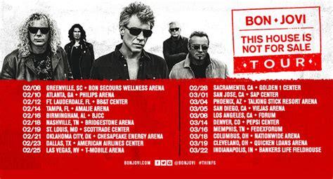 Bon Jovi Announces Tour Pushes Album Back The Music