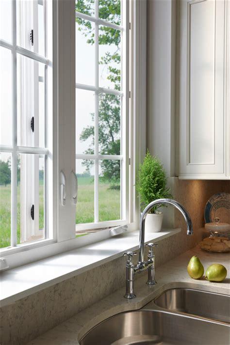 milgard tuscany series windows  kitchen traditional