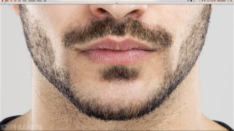Create Incredibly Realistic Facial Hair In Photoshop With Ease