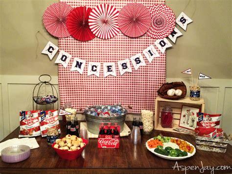 Baby Shower Baseball Theme Decorations - baseball themed baby shower aspen