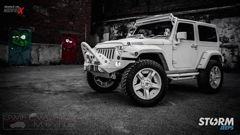 jeep wrangler rubicon modified custom 2015 jeep wrangler rubicon storm 11 modifiedx