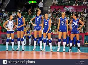 Russia Women's Volleyball Team Group at the 2011 FIVB ...