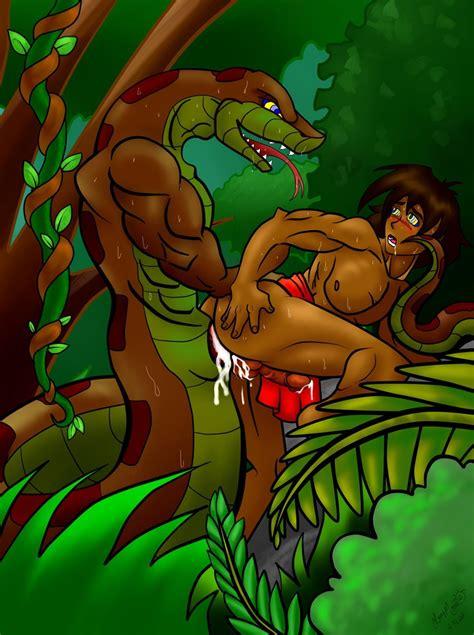Kaa And Mowgli Anal