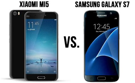 differences between samsung galaxy s7 and xiaomi mi5 no infrared xiaomitoday