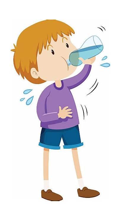 Drinking Water Boy Clip Child Clipart Drink