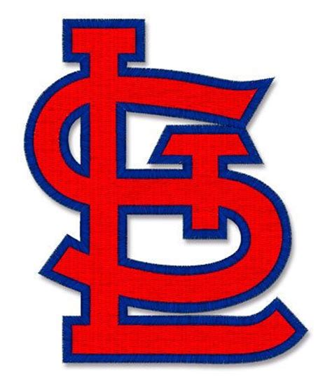 st louis cardinals embroidery design machine embroidery files and templates pinterest