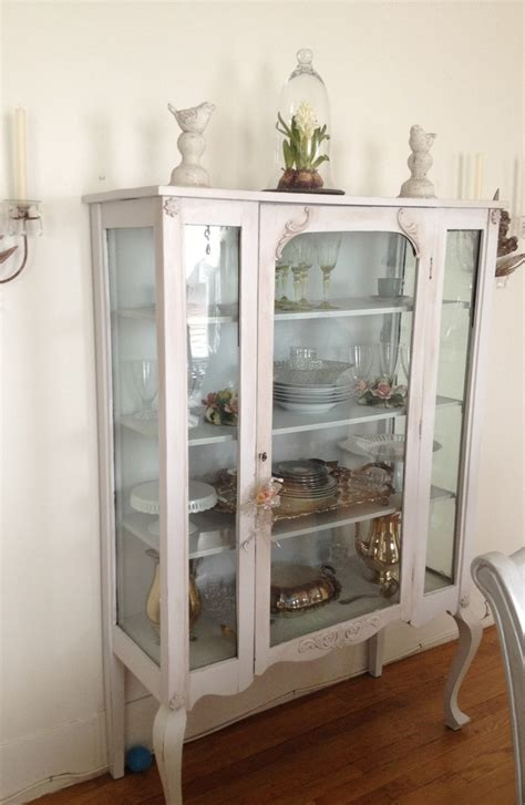 shabby chic china cabinet shabby chic china cabinet china cabinet make over pinterest