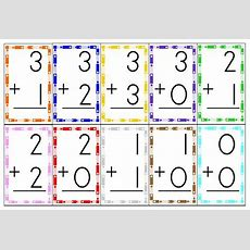 Free Printable Flashcards Addition 012 From 1+1+1=1printables & More  Kids Learning