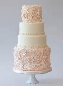 wedding cakes chic rosette wedding cakes wedding cake design 805068 weddbook