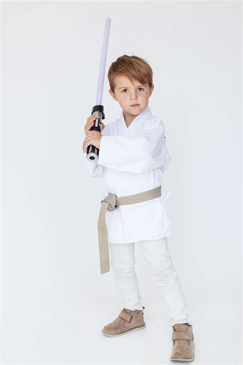 luke skywalker kostüm family costumes wars say yes