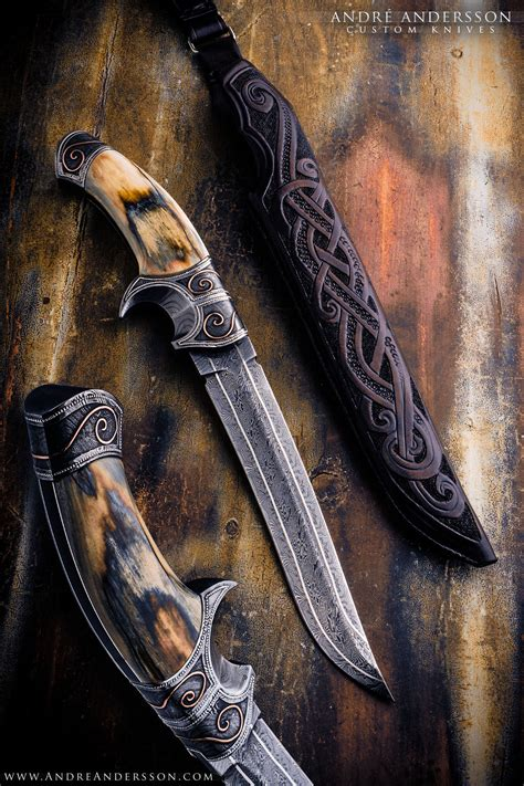 andre andersson custom knives  sweden