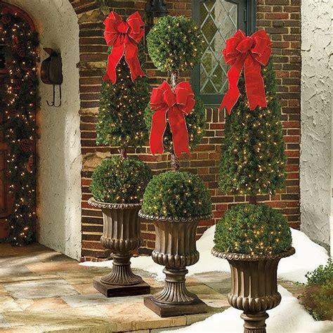 triple ball 6 ft topiary christmas pinterest