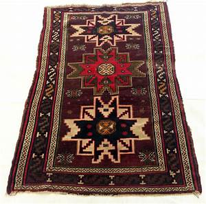Tapis d39orient fait main kazak 100x155 cm catawiki for Tapis d orient fait main