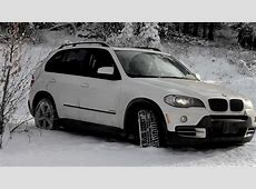 BMW X5 Winter Driving YouTube